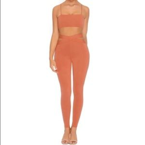 NWT OhPolly cut outta here two piece set